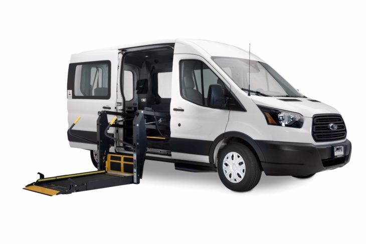 Van Wheelchair Lift Parts : Ford transit wheelchair vans handicap and gurney accessible