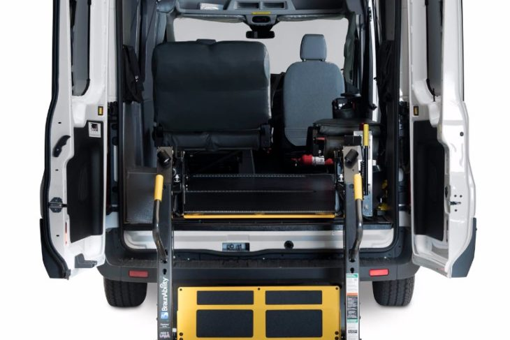 Ford Transit Wheelchair Van (Rear Lift)